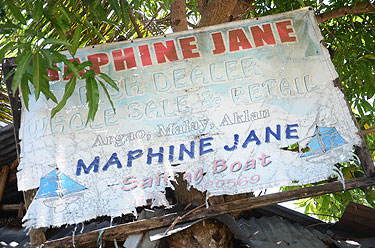 Shopping in Sambiray and Argao - This shop has everything - but NO CLOUD NINE