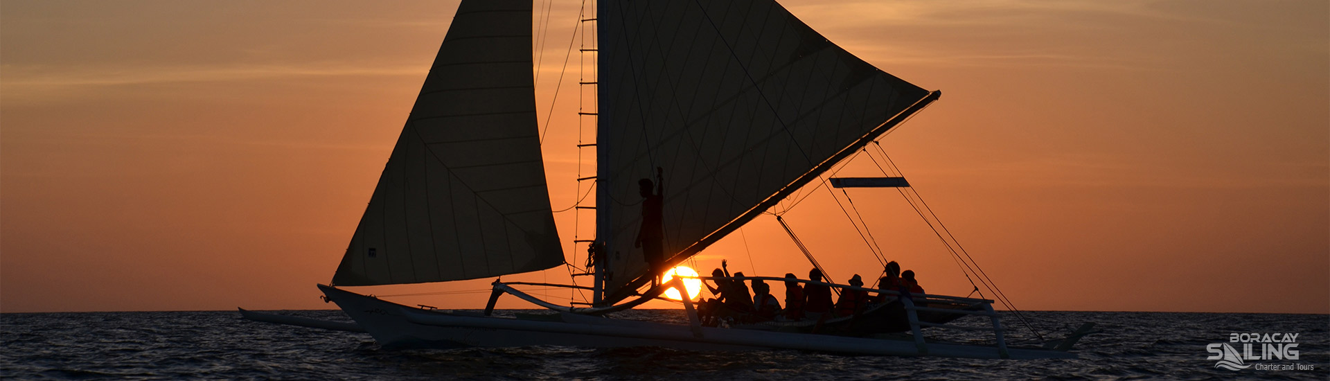 Sunset sailing prices Boracay
